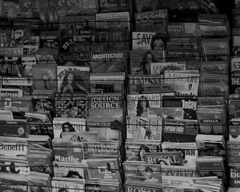 Kiosque à journaux — Illustration — Source : Wikipédia (CC)