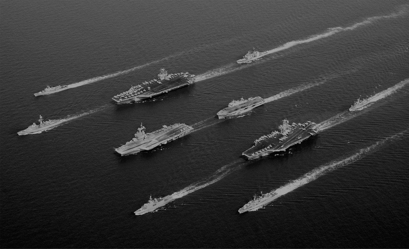 2017 Flotte US Navy dans le Pacifique — Crédit photo © US NAVY