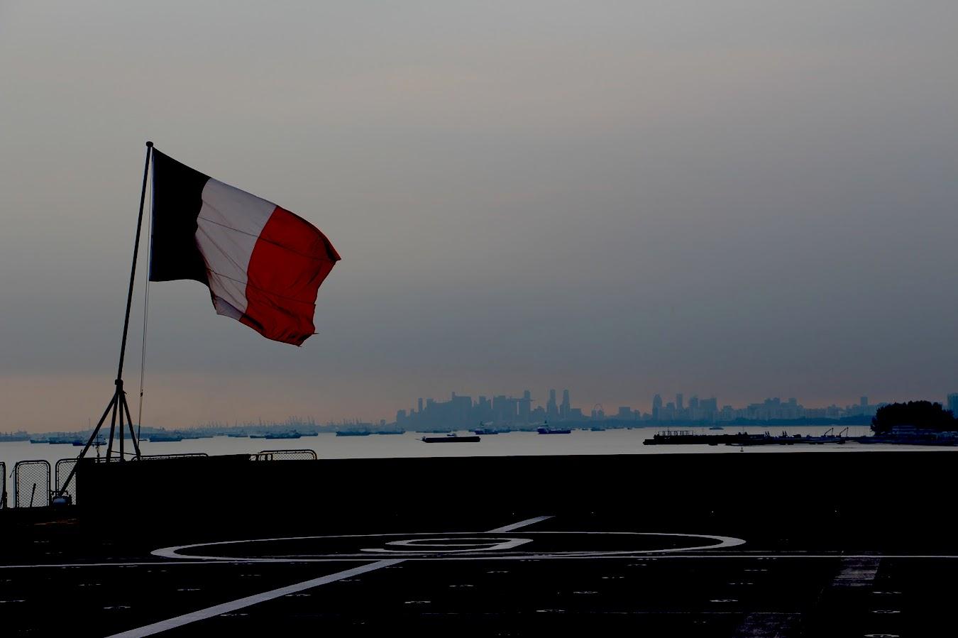 Asie-Pacifique : Mission Jeanne d'Arc 2017 de la Marine française — Crédit photo © Marine Nationale française.