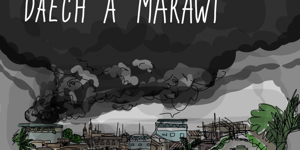 Daech à Marawi. Par © Tram-Anh