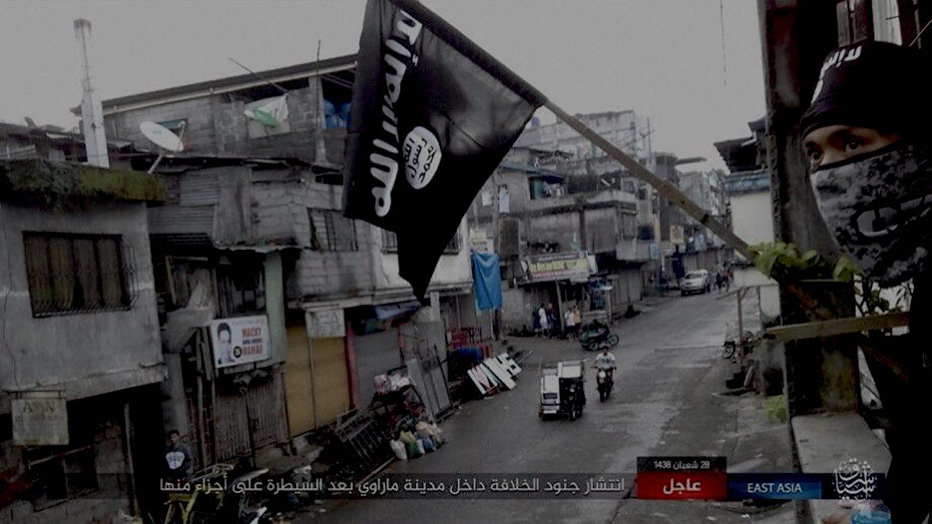ISIS à Marawi, Philippines - Image capture d'écran.