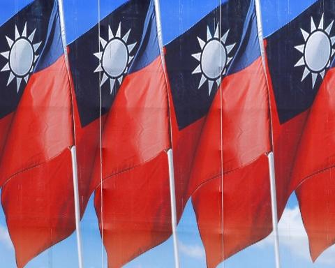 Drapeaux du Taiwan lors de la fête nationale. Crédit photo : ©Taiwan's MOFA