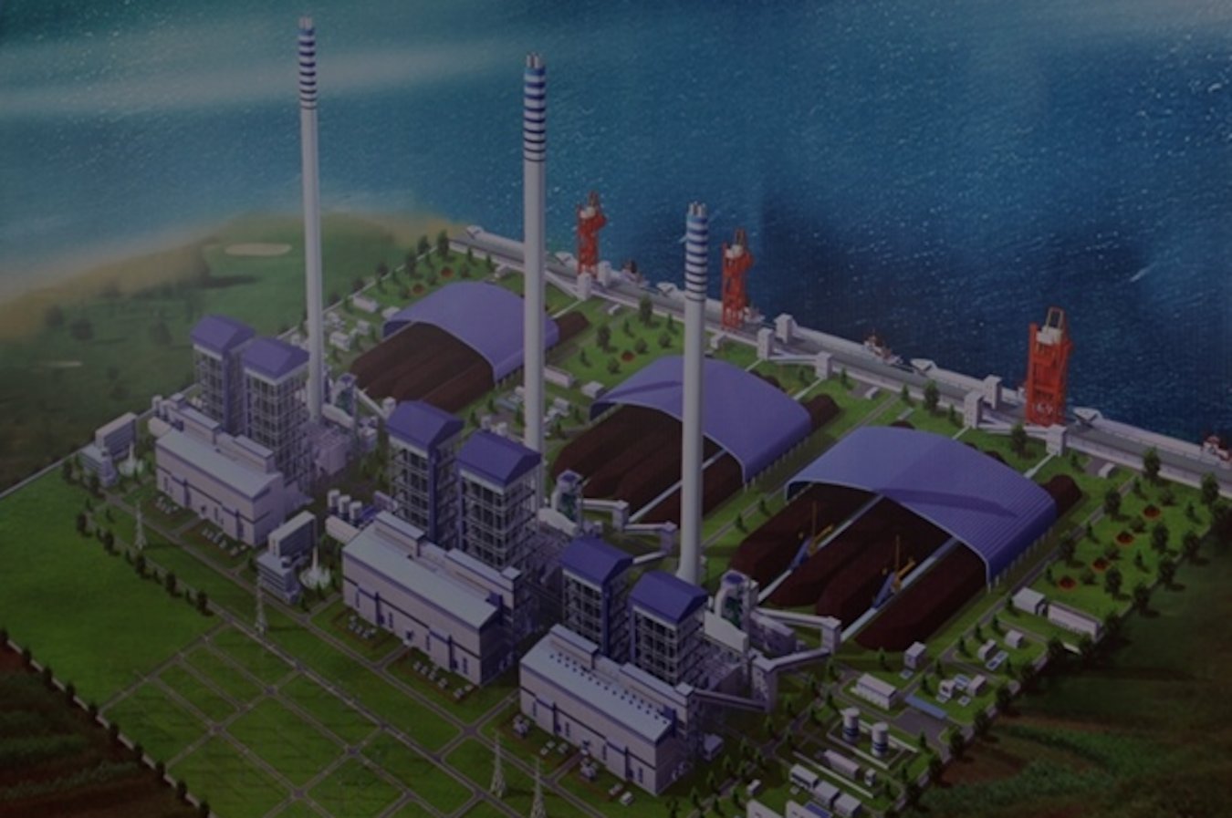 Projet Centrale Electrique Charbon Nouvelle génération de Song Hau Vietnam