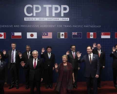 Signature de l'accord CPTPP (TPP-11) à Santiago de Chili.