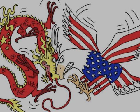 Illustration Guerre commerciale Etats-Unis et Chine - (c) DR