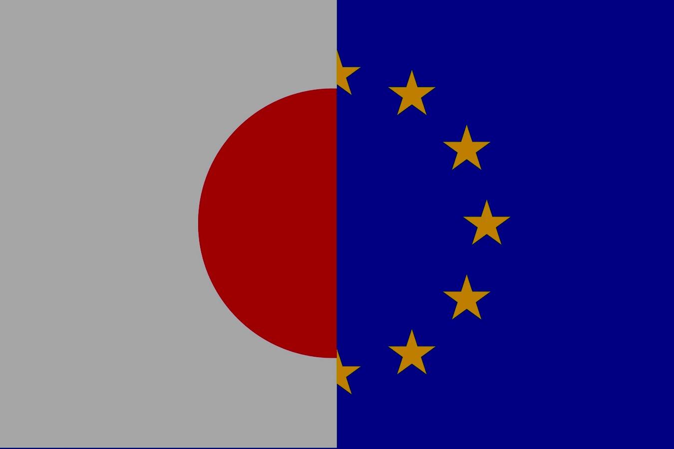 Illustration JEFTA Union européenne Japon. Dessin ©DR