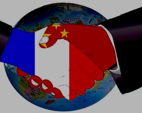 Illustration Relation France Chine — Image ©DR