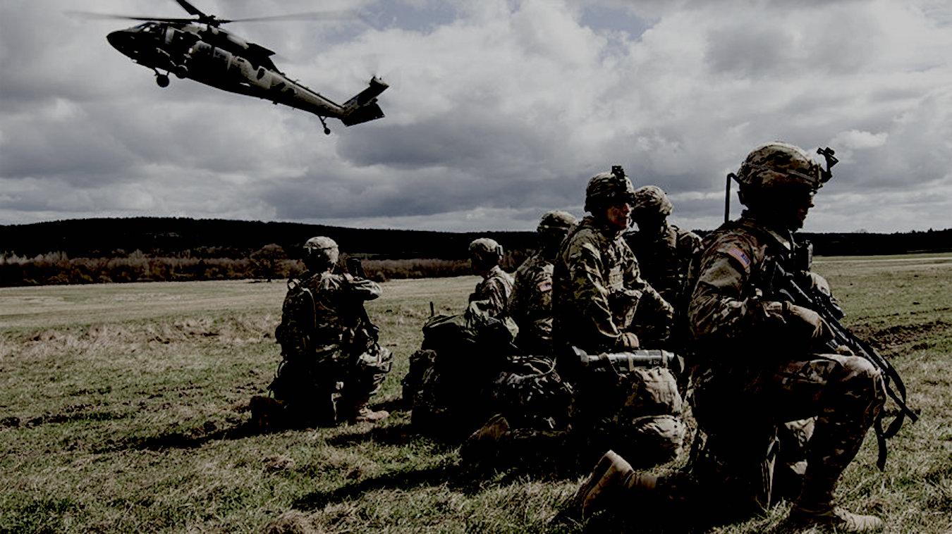 L'armée américaine en exercices - Crédit photo ©US Army-Ministère de la Défense des Etats-Unis