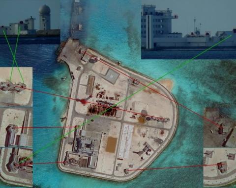 Spratleys Militarisation chinoise