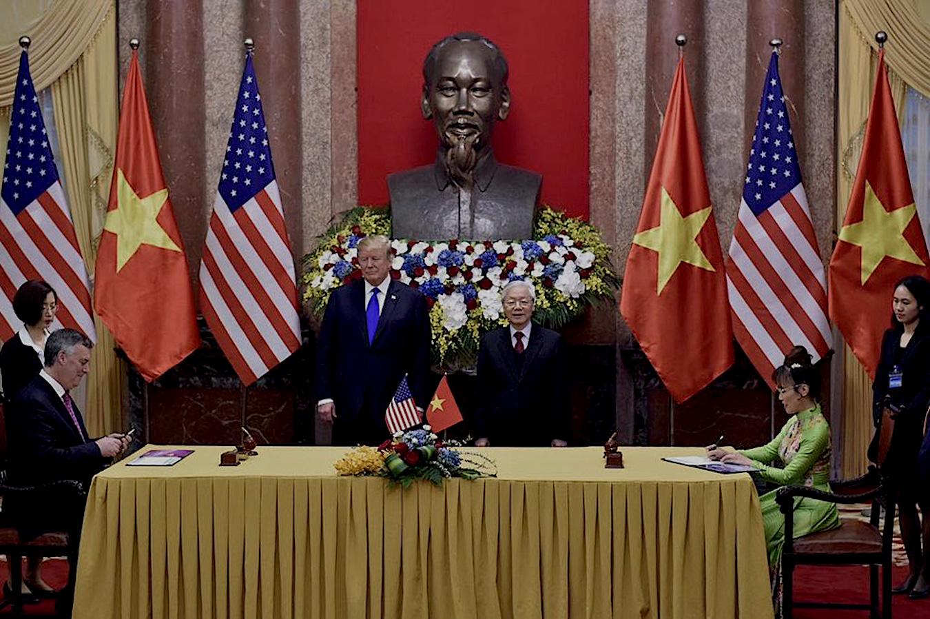TrumpKimSommet au Vietnam : 18 milliards de dollars pour